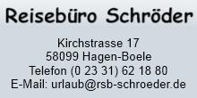 Reisebüro Schröder